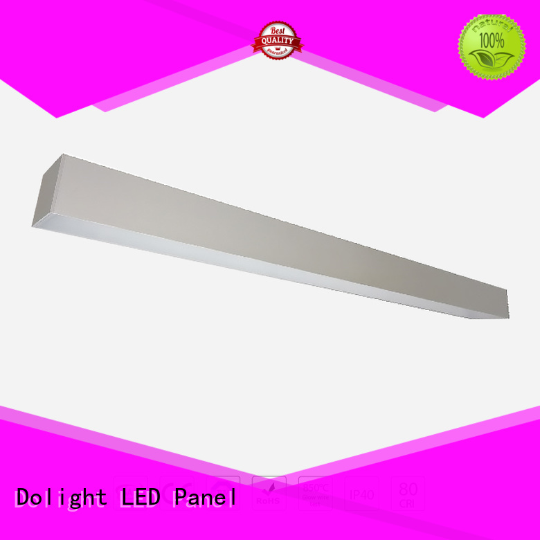 lo75 led recessed linear led lighting glare Dolight LED Panel Brand