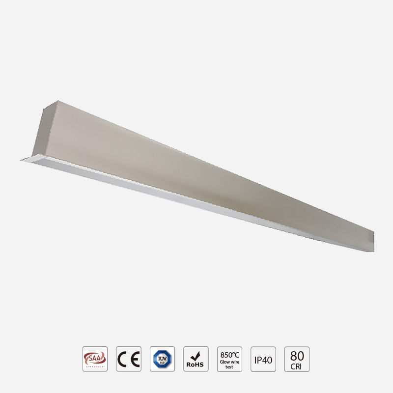 Recessed LED Linear Light RA90 Optional LW50