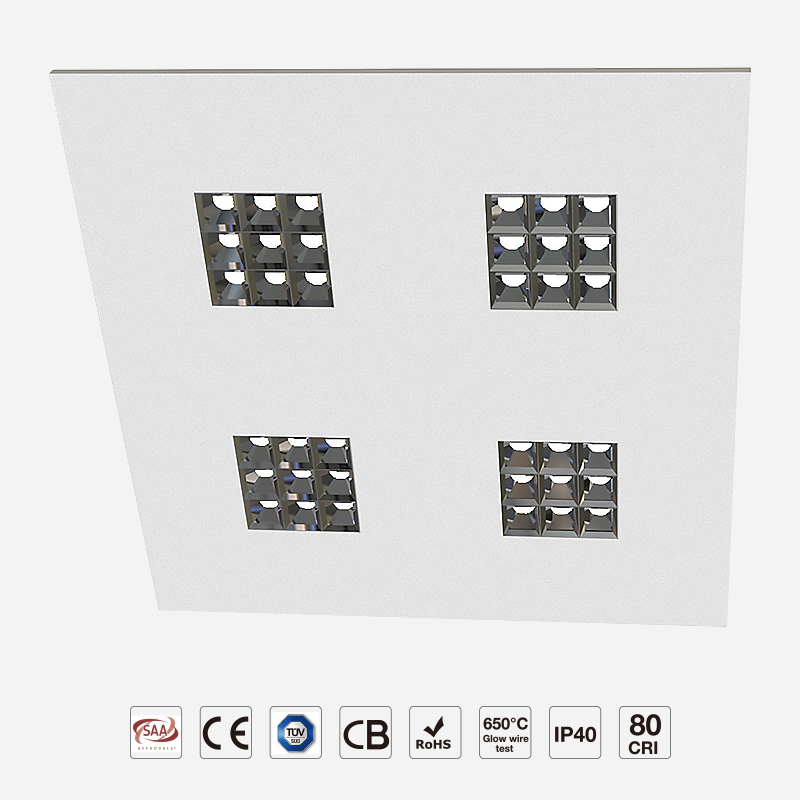 Classic Flavor Grille LED Panel Light UGR<16