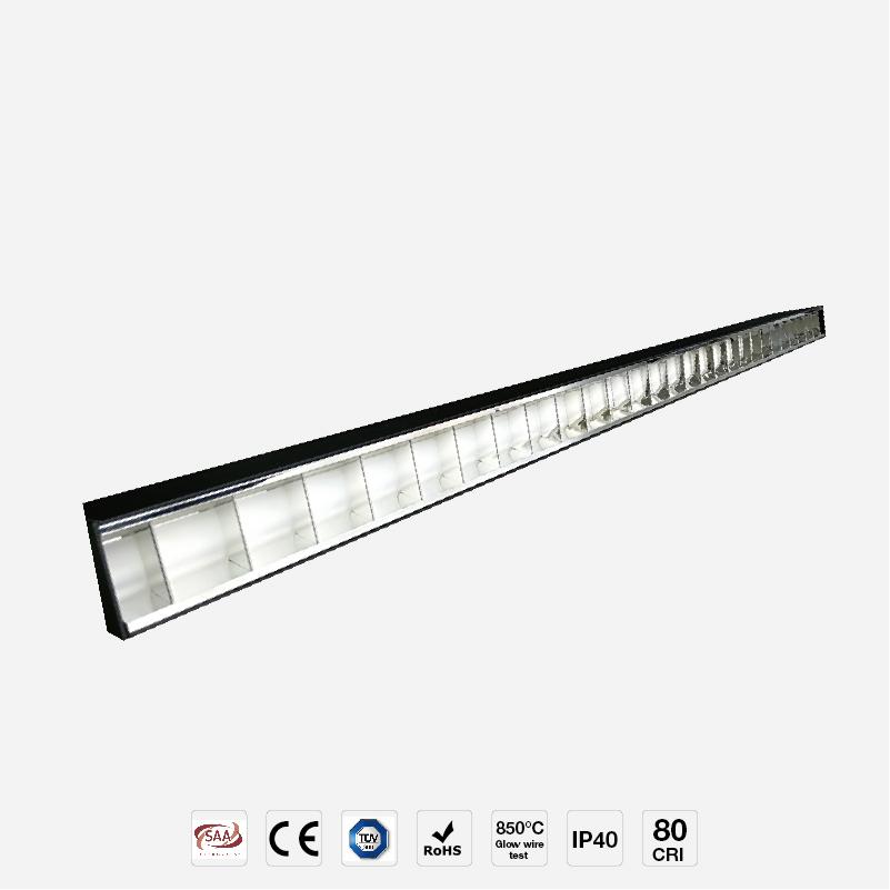 Classic Flavor Grille Design Grille LED Linear Light LR50