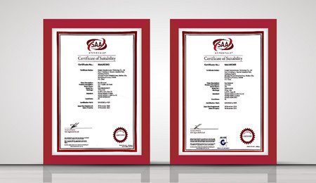 SAA certificates for LED Panel Light
