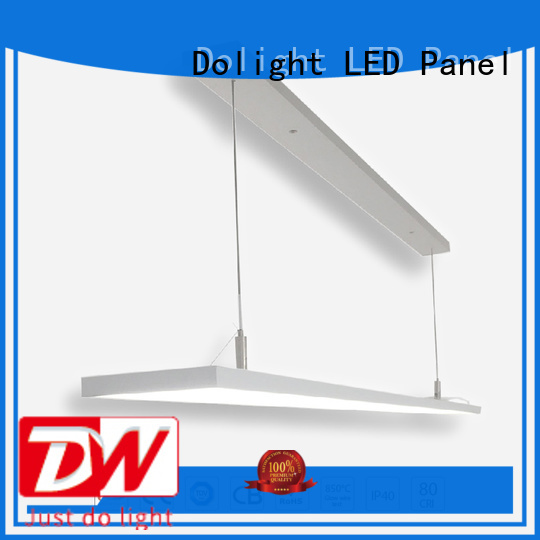 frameless frame library linear pendant lighting Dolight LED Panel Brand