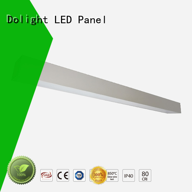 ll50 ra90 ugr14 recessed linear led lighting lo30 Dolight LED Panel Brand
