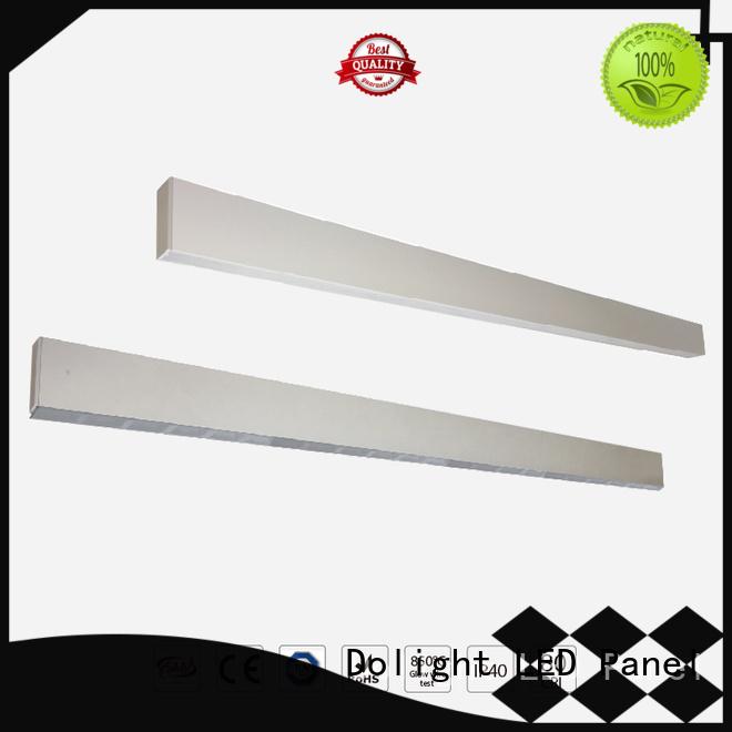 Dolight LED Panel Brand lens lr50 design recessed linear led lighting manufacture