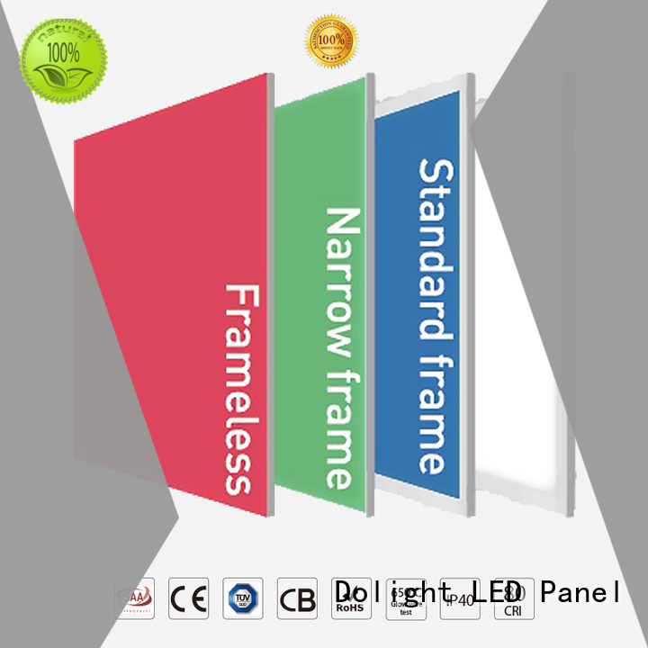 Wholesale frameless multi color led light panels Dolight LED Panel Brand