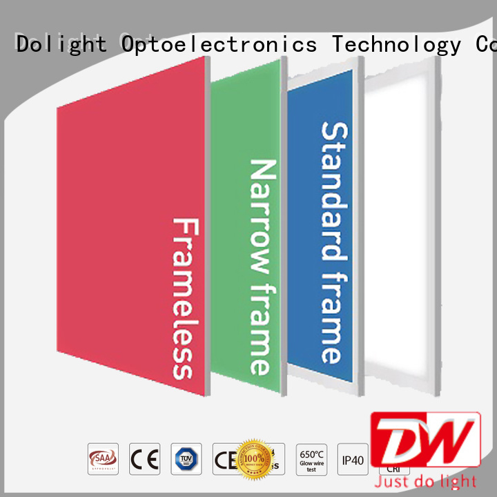 multi color led light panels frameless remote rgbw panel manufacture