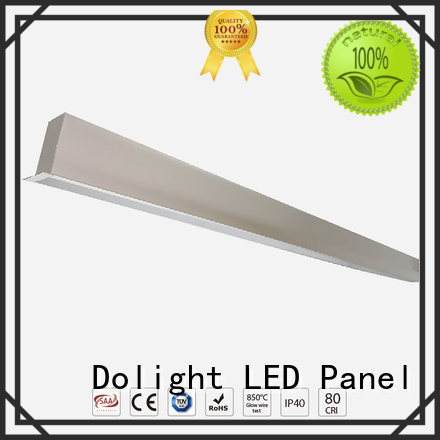 linear led pendant glare opal led Dolight LED Panel Brand recessed linear led lighting