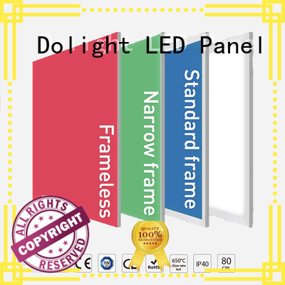 Dolight LED Panel Brand frameless rgbw panel light factory