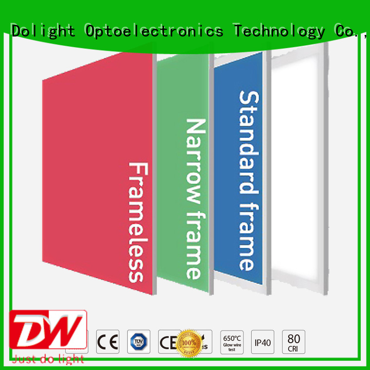 frameless light Dolight LED Panel Brand rgbw panel