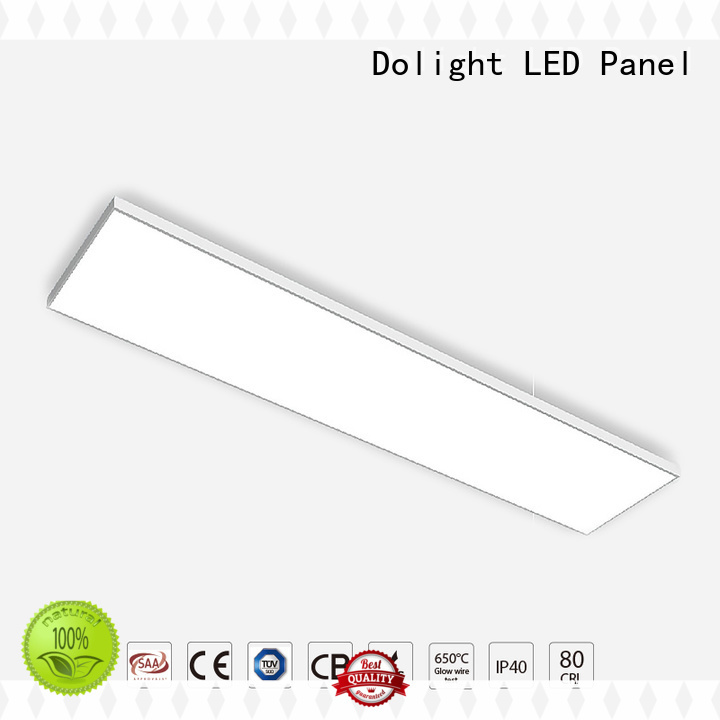 Quality Dolight LED Panel Brand simple linear pendant lighting