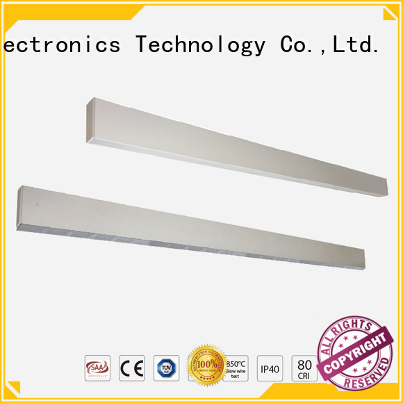 Dolight LED Panel Brand lens updown glare recessed linear led lighting manufacture