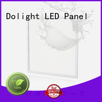 recessed flat special waterproof Dolight LED Panel Brand ip65 led panel supplier