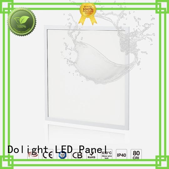 light flat antibacterial panel led ip65 Dolight LED Panel manufacture